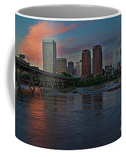 Richmond Dusk Skyline Coffee Mug