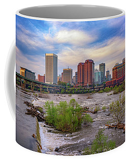 Richmond Skyline Coffee Mug by Rick Berk