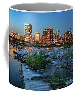 Richmond Twilight Coffee Mug by Rick Berk