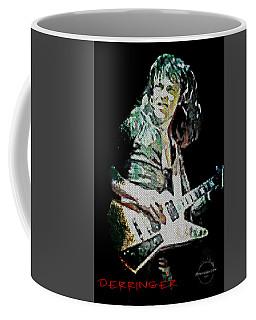 Rick Derringer Coffee Mug by Absinthe Art By Michelle LeAnn Scott