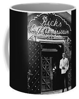 Ricks Cafe Americain Casablanca 1942 Coffee Mug