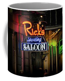 Ricks Sporting Saloon Coffee Mug