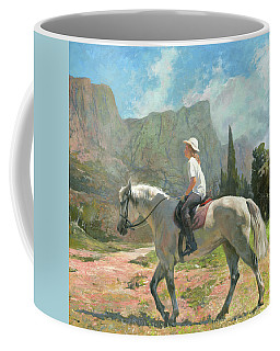 Riding Coffee Mug