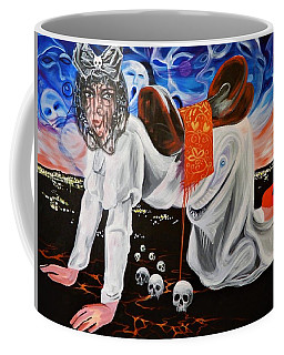 Riddle Of The Sphinx Coffee Mug