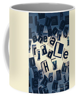 Riddles Of Contextual Scatter Coffee Mug