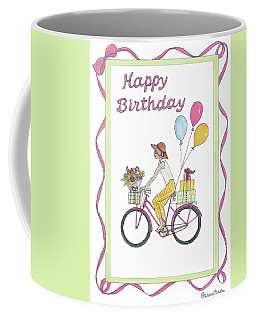 Ride In Style - Happy Birthday Coffee Mug