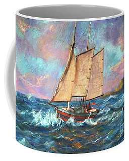 Ride The Wind And Waves Coffee Mug