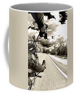 Ride To Live Coffee Mug