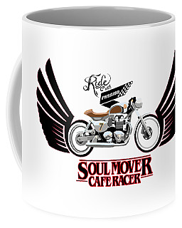 Ride With Passion Cafe Racer Coffee Mug