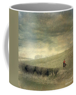 Rider In The Storm Coffee Mug