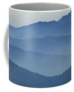 Ridgelines Great Smoky Mountains Coffee Mug