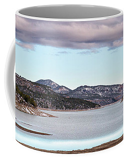 Ridgway Reservoir In April Coffee Mug