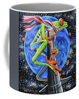 Riding A Nuclear Rocket Coffee Mug