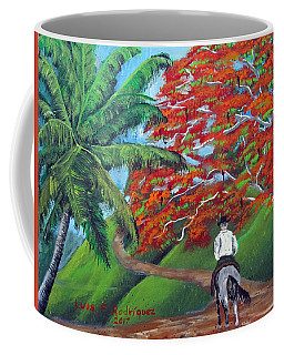 Riding Along Coffee Mug