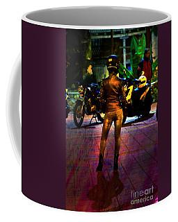 Coffee Mug featuring the photograph Riding Companion II by Al Bourassa