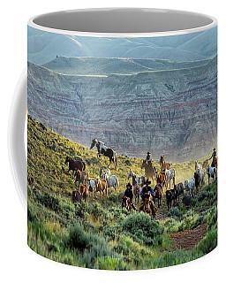 Riding Out Of The Sunrise Coffee Mug