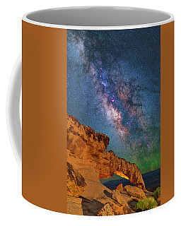 Riding Over The Arch Coffee Mug