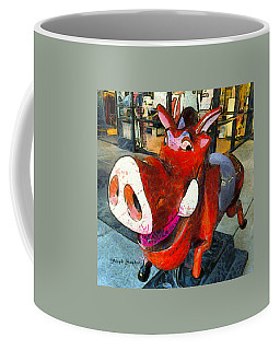 Coffee Mug featuring the photograph Riding Pig Of Pismo Beach by Floyd Snyder