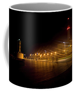 Coffee Mug featuring the photograph Riding Station, Tel Aviv by Dubi Roman