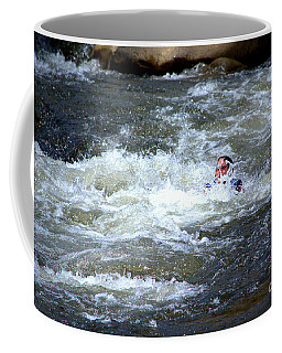 Riding The Flume Coffee Mug