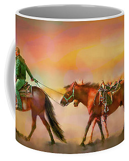 Riding The Surf Coffee Mug