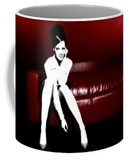 Rihanna Cooling Out Coffee Mug by Brian Reaves