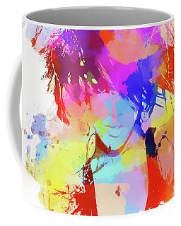 Rihanna Paint Splatter Coffee Mug