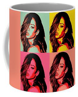 Rihanna Pop Art Coffee Mug