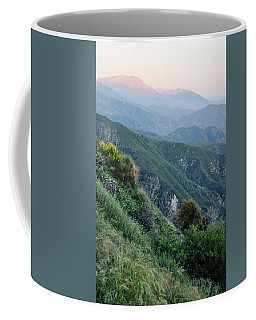 Coffee Mug featuring the photograph Rim O' The World National Scenic Byway II by Kyle Hanson