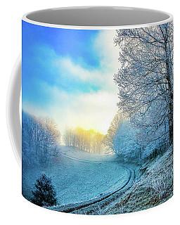 Rime Ice Sunrise Coffee Mug