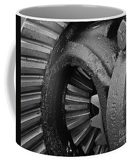 Ring And Pinion Bw Coffee Mug
