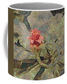 Ring Around The Posy Coffee Mug by Kathie Chicoine