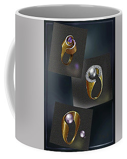 Ring  Designs Coffee Mug by Hartmut Jager