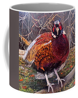 Ring Neck Pheasant Coffee Mug