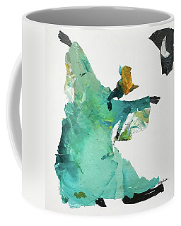 Coffee Mug featuring the painting Ring Shout Dancer by Mary Sullivan