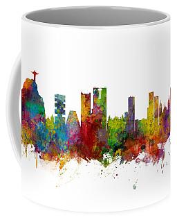 Rio De Janeiro Skyline Brazil Coffee Mug