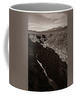 Coffee Mug featuring the photograph Rio Grande River Taos by Marilyn Hunt