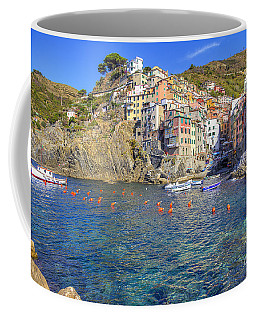 Coffee Mug featuring the photograph Riomaggiore by Spencer Baugh