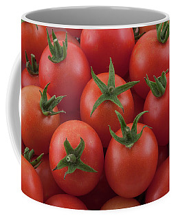 Coffee Mug featuring the photograph Ripe Garden Cherry Tomatoes by James BO Insogna