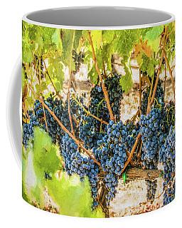 Ripe Grapes On Vine Coffee Mug