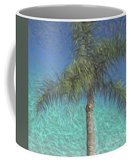 Rippled Palm Coffee Mug