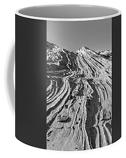 Rippled Sandstone At Waterhole Canyon Coffee Mug