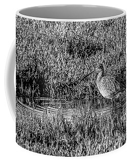 Camouflage, Black And White Coffee Mug