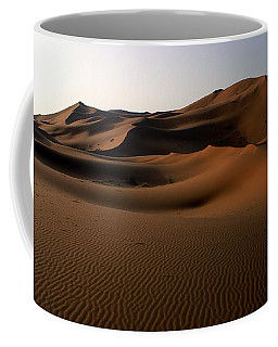 Ripples In The Sand Coffee Mug by Ralph A  Ledergerber-Photography