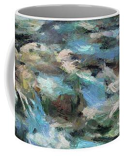 Rippling Stream Coffee Mug by Dragica Micki Fortuna
