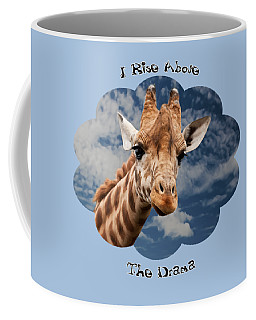 Rise Above Coffee Mug by Judi Saunders