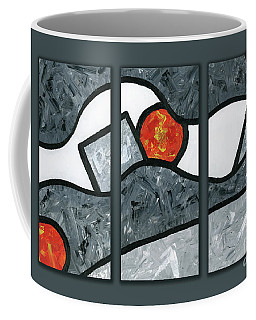 Rise And Fall Triptych Coffee Mug