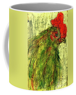 Coffee Mug featuring the drawing Rise And Shine  by P J Lewis