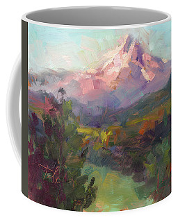 Coffee Mug featuring the painting Rise And Shine by Talya Johnson