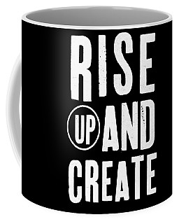Rise Up And Create- Art By Linda Woods Coffee Mug